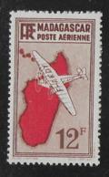 MADAGASCAR 1935 YT PA 10** - RECTO-VERSO - Madagaskar (1889-1960)