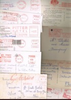 Un Lot De Plus 180   CARTES AVEC EMA. (rouge) - Marcophilie (Lettres)