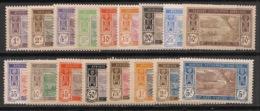 Côte D'Ivoire - 1913-17 - N°Yv. 41 à 57 - Série Complète - Neuf * / MH VF - Ongebruikt