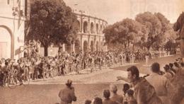 NIMES  Tour De France  1952 - Vieux Papiers