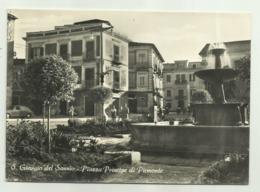 S.GIORGIO DEL SANNIO - PIAZZA PRINCIPE DI PIEMONTE - NV  FG - Benevento
