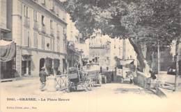 06 - GRASSE  La Place Neuve ( Hotel Du Commerce - Animatikon ) CPA - Alpes Maitimes - Grasse