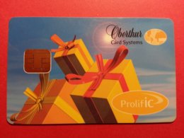 OBERTHUR DEMO TEST CARD PROLIFIC ProlifIC Cadeau Smart (FB1217) - Herkunft Unbekannt