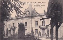 AUGERVILLE LA RIVIERE          LE CHATEAU DU MESNIL - France