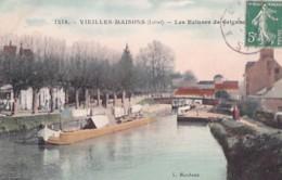 VIEILLES MAISONS         LES ECLUSES DE GRIGNOT   +  PENIXHE COLORISEE - France