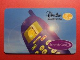 OBERTHUR DEMO TEST CARD SCRATCH CARD Mobile GSM SIM Smart (FB1217) - Herkunft Unbekannt