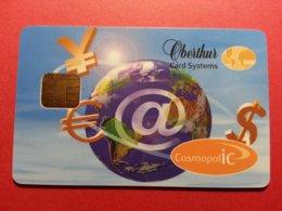 OBERTHUR DEMO TEST CARD COSMOPOLIC CosmopolIC Internet Smart (FB1217) - Herkunft Unbekannt