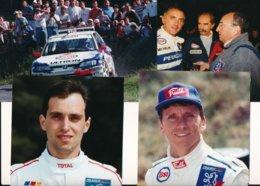 Championnat De France Des Rallyes - Peugeot 306 Maxi Et Ses Pilotes - Photos Format 18 X 13 Cm Env. - Cars