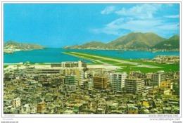 Chine ,  HONG KONG  , KAI TAK AIRPORT , ( Voir Verso ) - Chine (Hong Kong)