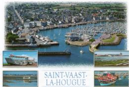 CPM - F - MANCHE - SAINT VAAST LA HOUGUE - SON PORT DE PECHE - Saint Vaast La Hougue