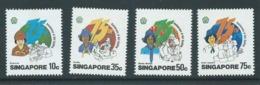 Singapore 1985 Girl Guide Anniversary Set Of 4 MNH - Singapore (1959-...)