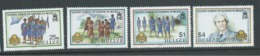 Belize 1987 Girl Guide Anniversary Set Of 4 MNH - Belize (1973-...)