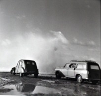 Rare Négatif 6 X 6 Cm Voitures 2 Cv Citroën Et Autre - Cars