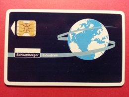 SCHLUMBERGER INDUSTRIES DEMO TEST CARD SC4ob Planète TRIAL Smart 11396 IMPACT (FB1217) - Herkunft Unbekannt