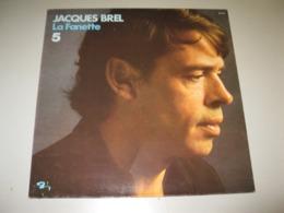 VINYLE JACQUES BREL 33 T BARCLAY (1968) - Vinyl Records