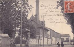 CPA 91 ESSONNE @ CROSNE - CROSNES - USINE RENAULT BAILLE LEMAIRE En 1914 - Avenue Des Platanes - Crosnes (Crosne)