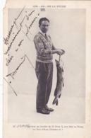 CPA 51 ? Les AS De La Pêche De La MARNE - Mr J. DAVID (DEDICACE) Avec Un Brochet De 10 Livres Et Demi - Châtelaillon-Plage