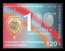 Armenia 2018 Mih. 1077 Police Of Armenia MNH ** - Armenia