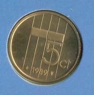 1989 * 5 Cent  Uit FDC-SET  * NEDERLAND * - [ 3] 1815-… : Royaume Des Pays-Bas