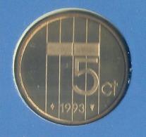 1993 * 5 Cent  Uit FDC-SET  * NEDERLAND * - 1980-…: Beatrix