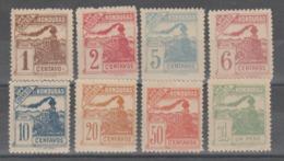 HONDURAS  1898  **   MNH  YVERT   85/92  TRENES - Honduras