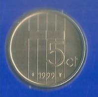 1999 * 5 Cent  Uit FDC-SET  * NEDERLAND * - [ 3] 1815-… : Royaume Des Pays-Bas