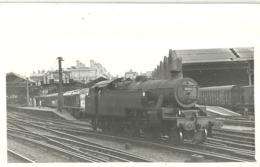 """5643 """"LMS STANIER CLASS--4-2-6-4T N°42611 ALLA STAZIONE DI LONDRA EUSTON"""" ORIGINALE - Trains"""