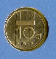 1987 * 10 Cent  Uit FDC-SET  * NEDERLAND * - 1980-…: Beatrix