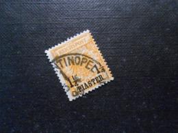 D.R.Mi 9b (9 Lla)  11/4PIA Auf 25Pf  Deutsche Auslandpostämter (Türkei) 1889  Mi 30,00 € - Geprüft Bothe - Offices: Turkish Empire