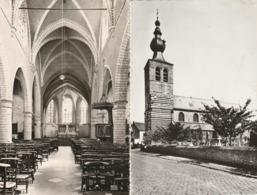 Werchter - Kerk Sint Jan Baptist En Binnenzicht Der Kerk - Photo L. Van Meel - Rotselaar