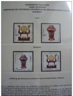 Emissioni Congiunte CINA 2004, Handicrafts 2v, Joint Issue Romania 2 Serie Cpl. 4v. Nuovi** - Gemeinschaftsausgaben