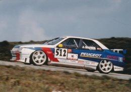 Johnny Hauser Champion De Suisse De Supertourisme 1997 Sur Peugeot 405 ST - Photo Format 18 X 13 Cm Env. - Cars