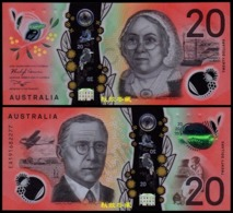 Australia 20 Dollars (2019), Sign.: Lowe-Gaetje, EA19 Last Prefix, Polymer, UNC - Emissioni Governative Decimali 1966-...