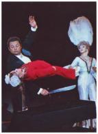 SOVIET CIRCUS (USSR, 1979). CONJURER ILLUSIONIST YURY AVYERINO. Unused Postcard - Circo