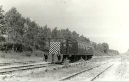 """5649 """"LOCOMOTORE RUSTON CON VAGONE PASSEGGERI""""ORIGINALE - Trains"""