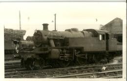 """5651 """"STEAM LOCOMOTIVE 40153 -GLASGOW 1954""""ORIGINALE - Trains"""