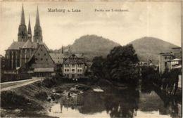 CPA AK Marburg Partie Am Lahnkanal GERMANY (899396) - Marburg