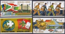 BURUNDI - 1974 - Serie Completa Nuova MNH Di 8 Valori UNITI A COPPIE: Yvert 617/624. - Burundi