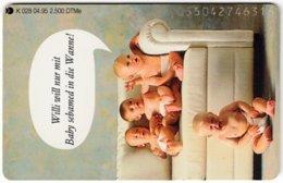 GERMANY K-Serie A-729 - 028 04.95 - People, Children - MINT - Germania