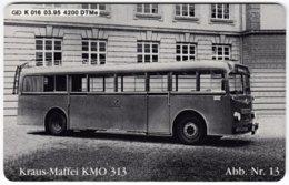 GERMANY K-Serie A-730 - 016 03.95 - Traffic, Historic Bus - MINT - Deutschland
