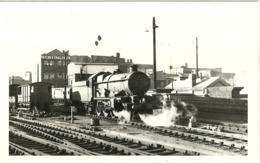 """5656 """"LOCOMOTIVA A VAPORE ALLA STAZIONE DI BIRMINGHAM""""ORIGINALE - Trains"""