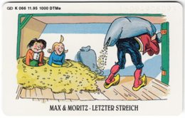 GERMANY K-Serie A-735 - 066 11.95 - Children's Tales, Max & Moritz - MINT - Germania
