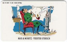 GERMANY K-Serie A-740 - 061 11.95 - Children's Tales, Max & Moritz - MINT - Germania