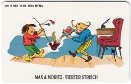 GERMANY K-Serie A-741 - 060 11.95 - Children's Tales, Max & Moritz - MINT - Germania