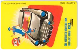 GERMANY K-Serie A-749 - 004 01.95 - Cartoon, Traffic, Car - MINT - Deutschland