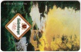 GERMANY K-Serie A-799 - 035 06.95 - Advertising, Drink, Beer - Used - Deutschland