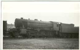 "5657 ""STEAM LOCOMOTIVE WD 77379-HOVE-EAST SUSSEX-3/10/1947""ORIGINALE - Trains"
