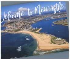 (ED 34) Postcard - Australia - NSW - Newcastle With Lighthouse - Newcastle