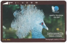 INDONESIA A-347 Magnetic Telekom - Animal, Bird - 100 Units - Used - Indonesien