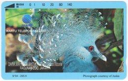 INDONESIA A-348 Magnetic Telekom - Animal, Bird - 140 Units - Used - Indonesien